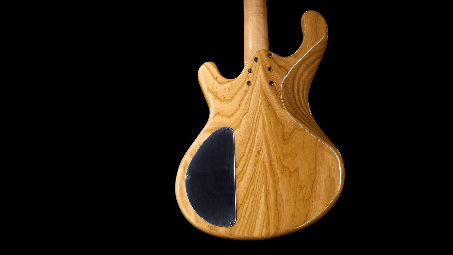 Roks Instruments Nardis Bass Natural Body Back