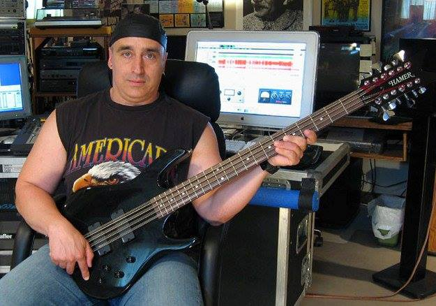Tony Senatore with 12-string Bass