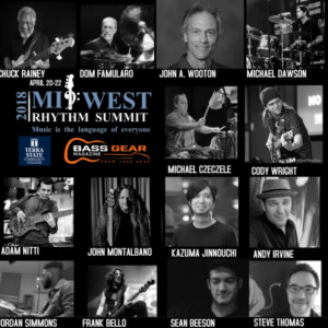 Midwest Rhythm Summit Set for April 20-22