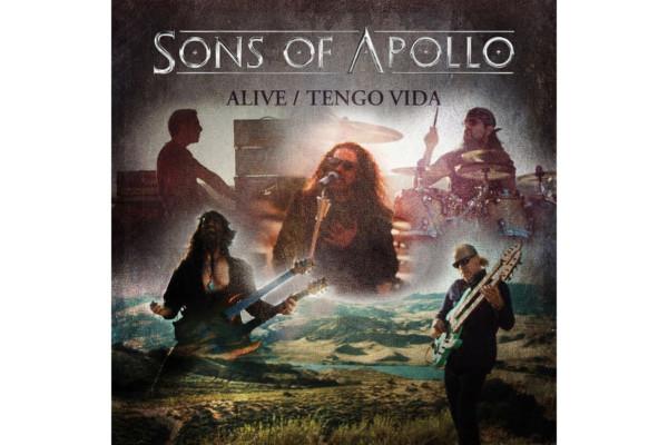 "Sons of Apollo Release ""Alive/Tengo Vida"" EP"