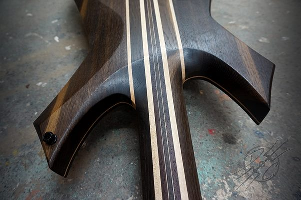 Devil's Choice EvilOak Bass Neck Joint