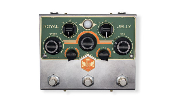 Beetronics Introduces the Royal Jelly Overdrive/Fuzz Blender