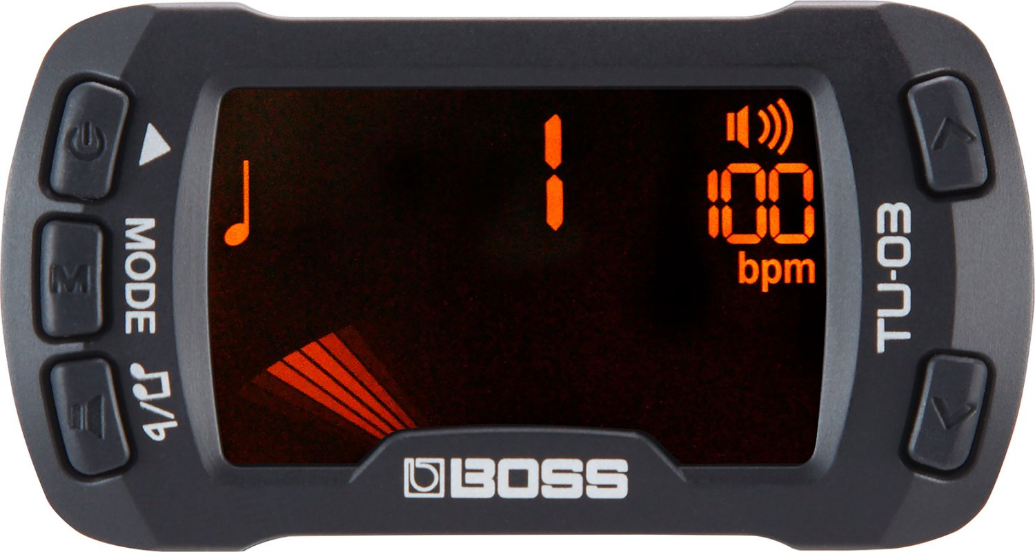 Boss TU-03 Clip-On Tuner - Metronome