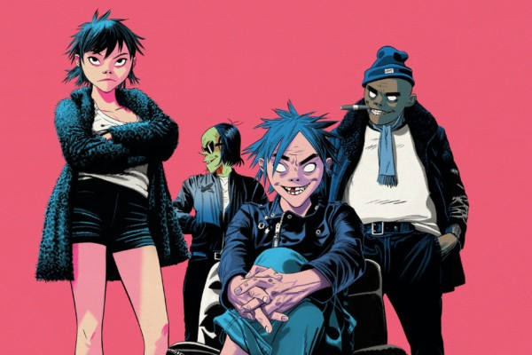 Gorillaz Head Out On 2018 World Tour