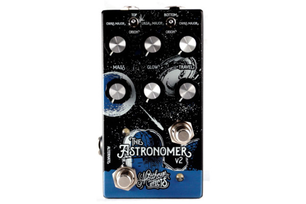 Matthews Effects Introduces Astronomer V2 Reverb Pedal