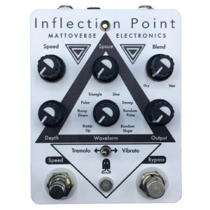 Mattoverse Electronics Announces the Inflection Point Modulation Pedal