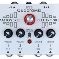 Mattoverse Electronics Introduces the Quadramix Pedal