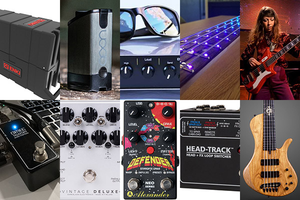 Bass Gear Roundup: The Top Gear Stories in May 2018