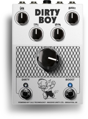 Massive Unity Dirty Boy Preamp Pedal