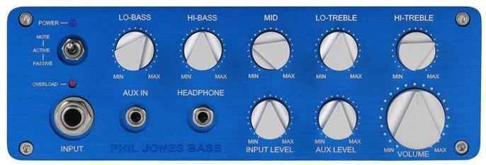 Phil Jones Bass BP-800 Bass Amp - Front Panel