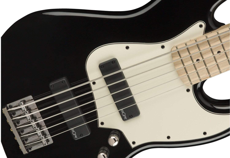 Squier Contemporary Active Jazz Bass V Black Body