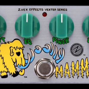 ZVEX Effects Unveils the Germanium Woolly Mammoth Mod Pedal