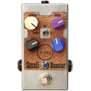Zorg Effects Announces the Small Basstar Overdrive Pedal