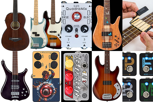 Bass Gear Roundup: The Top Gear Stories in June 2018