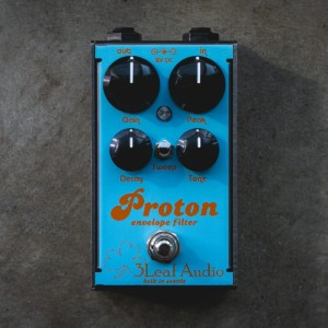 3Leaf Audio Unveils Limited Edition Gulf Livery Proton Envelope Filter Pedal