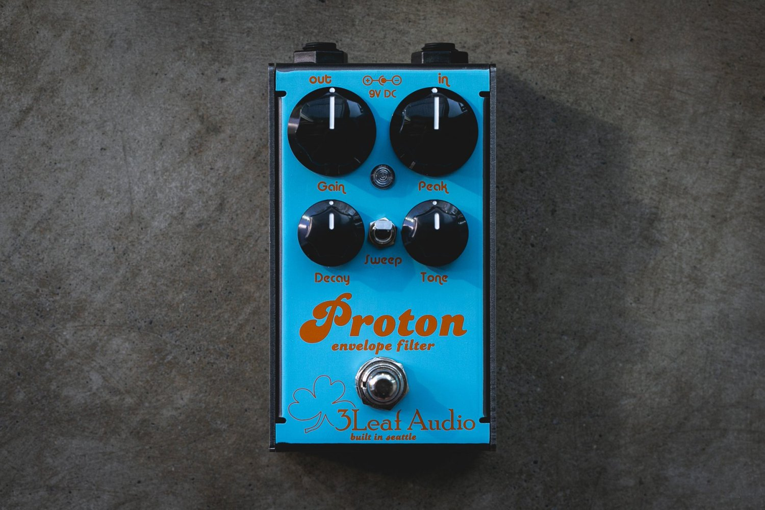 3Leaf Audio Proton Limited Edition Gulf Livery Proton Envelope Filter Pedal