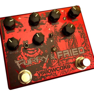 Yellowcake Pedals Introduces the Furry and Fried Dual Overdrive Pedal