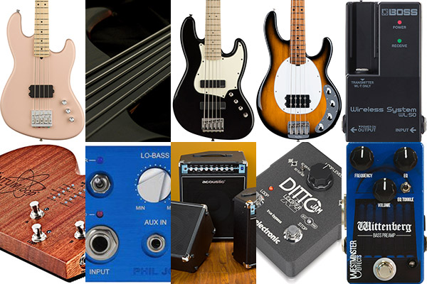 Bass Gear Roundup: The Top Gear Stories in July 2018
