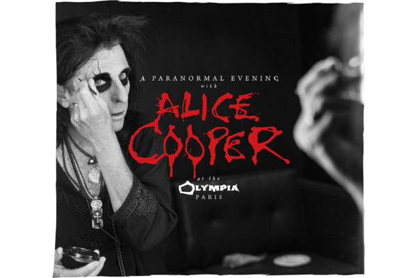 "Alice Cooper Releases ""A Paranormal Evening at The Olympia Paris"""