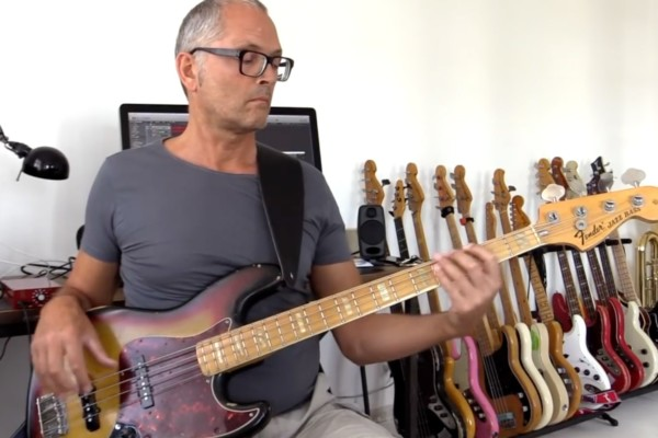Bass Lick Series: A7 Bass Line with Harmonics (and More)