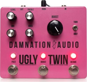 Damnation Audio Ugly Twin Pedal