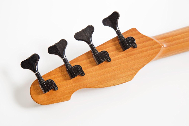 Fant Guitars Omega Bass Back of Headstock