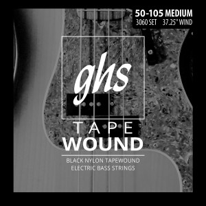 GHS Tapewound 4-String Bass Set