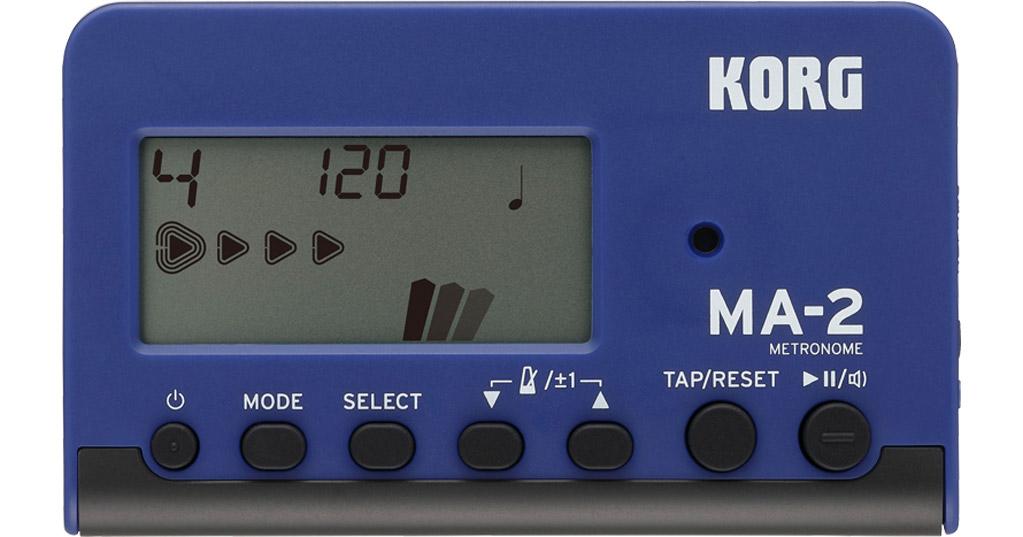 Korg MA-2 Metronome - Blue