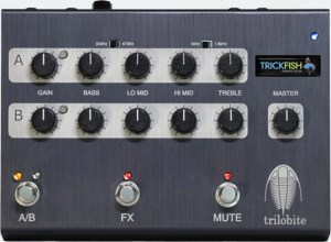 Trickfish Amplification Trilobite Preamp Pedal