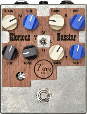 Zorg Effects Glorious Basstar 2 Pedal
