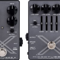 Darkglass Electronics Unveils the Microtubes X Series Pedals