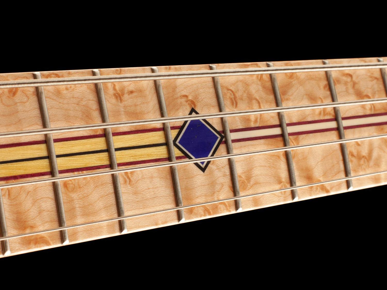 Fodera Masterbuilt Prairie Bass Fingerboard Inlays
