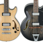 Ibanez Reintroduces Artcore AFB200 and AGB200 Basses