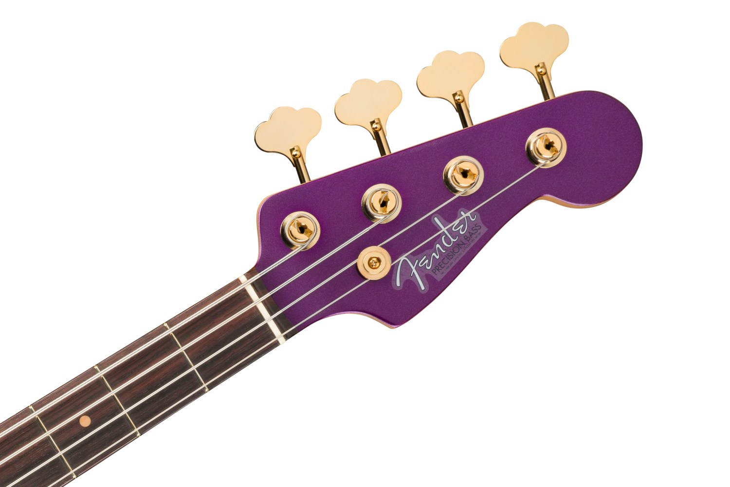 Fender Limited Edition Midnight Hour Precision Bass Headstock