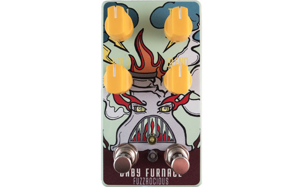 Fuzzrocious Pedals Announced Baby Furnace Gated Fuzz Pedal
