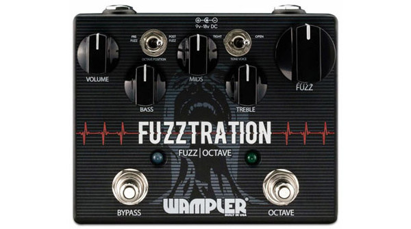 Wampler Pedals Introduces the Fuzztration Pedal