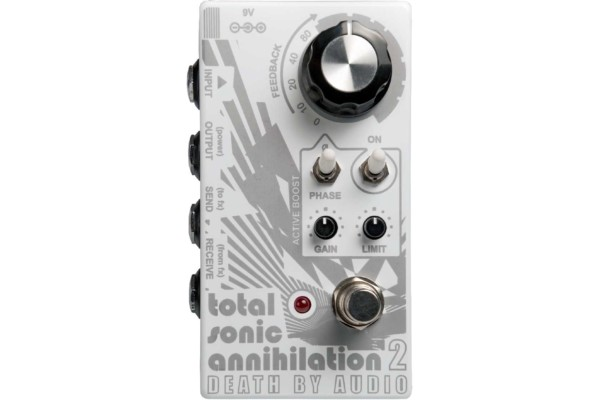 Death By Audio Introduces the Total Annihilation 2 Pedal