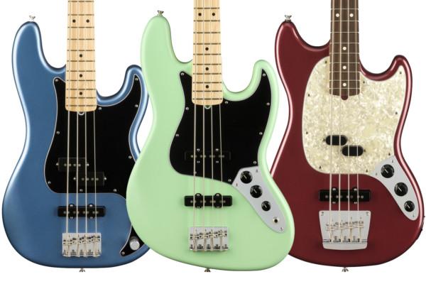 Fender Announces the American Performer Series Basses