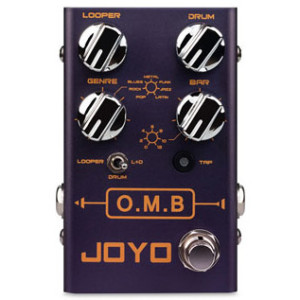 JOYO Audio Introduces the O.M.B. Looper/Drum Machine Pedal