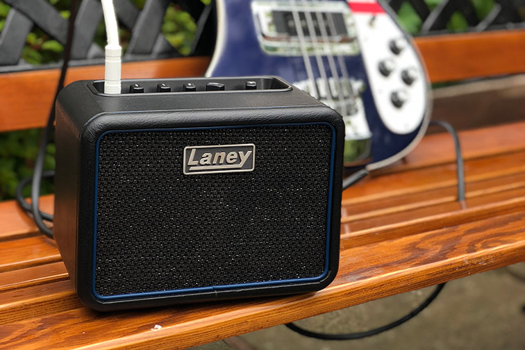 Laney Amplification Mini-Bass-NX Battery-Powered Bass Amp with Bass