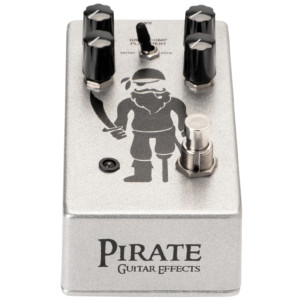 Pirate Guitar Effects Introduces the Peg Leg Overdrive/Compressor Pedal