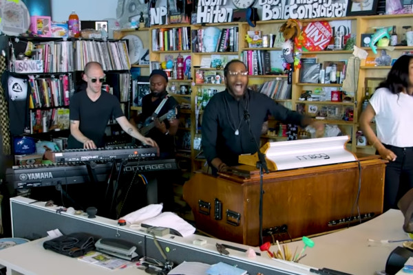 Cory Henry & The Funk Apostles: NPR Music Tiny Desk Concert