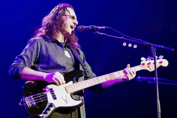 Geddy Lee Announces U.S. Book Tour