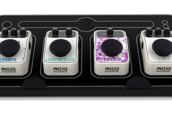 NEXI Announces the NEXI Bass Powered Pedalboard