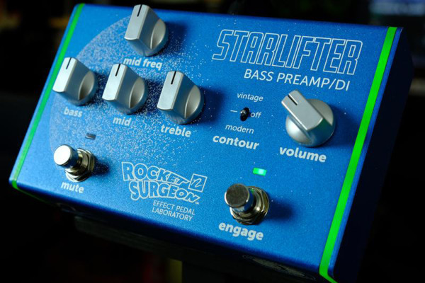 Rocket Surgeon Starlifter Bass Preamp and DI Now Shipping