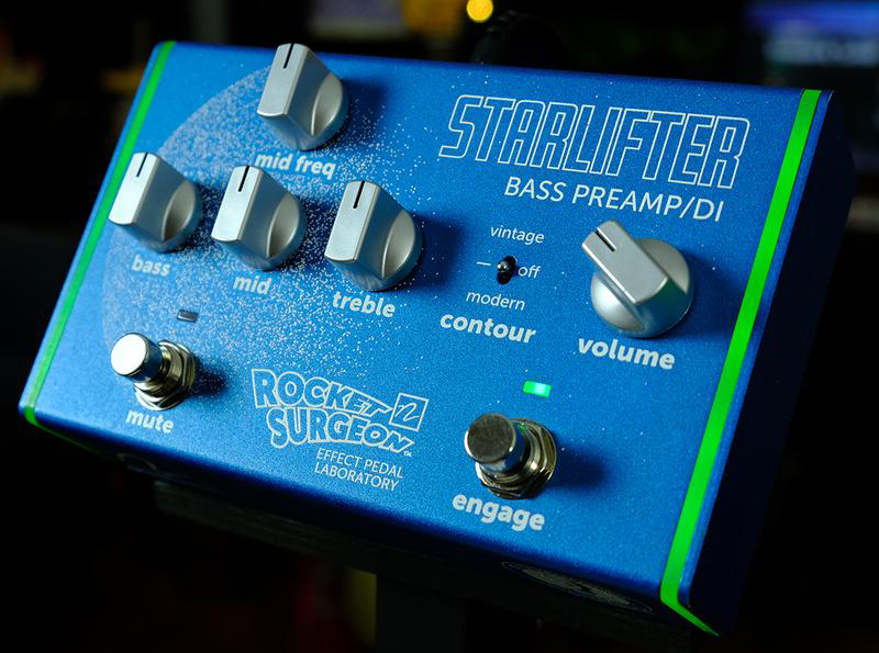Rocket Surgeon Effect Pedal Laboratory StarLifter Bass Preamp/DI