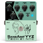 Tech 21 Unveils the Geddy Lee for Signature SansAmp YYZ Pedal