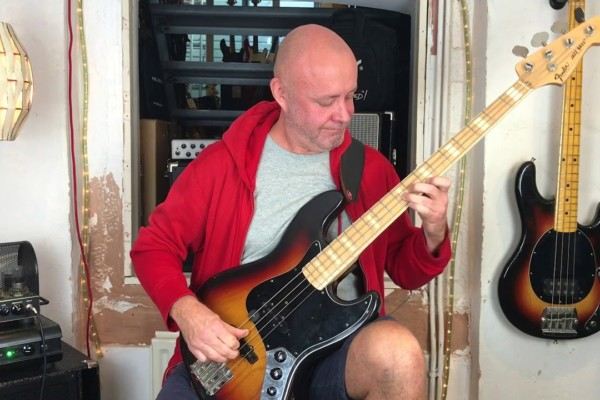 "Julian Crampton: Bass Playthrough of Incognito's ""Jacob's Ladder"""