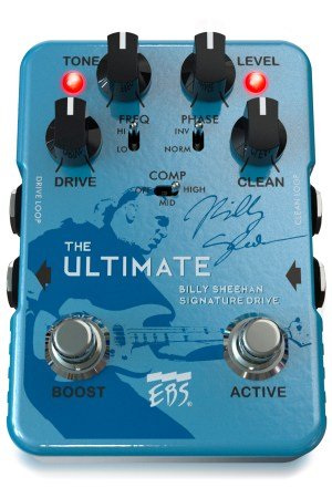 EBS Billy Sheehan Ultimate Signature Drive Pedal