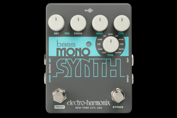 Electro-Harmonix Introduces the Bass Mono Synth Pedal